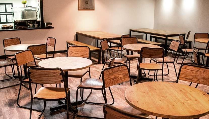 Industrial Canteen Furniture with Matching Chairs
