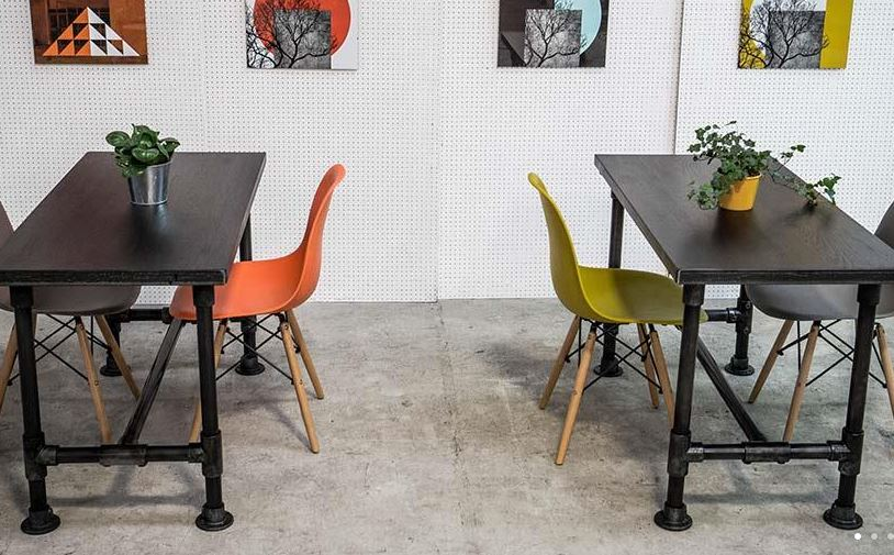 Industrial Pipe Cafe Tables