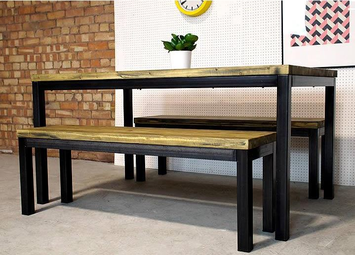 Industrial Welded Frame Table Rigg