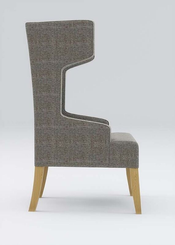 Izzey-Grey-High-Back-Upholstered-Reading-Chair-Side-View