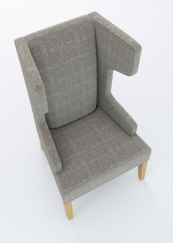 Izzey-Grey-Upholstered-Winged-High-Back-Reading-Chair