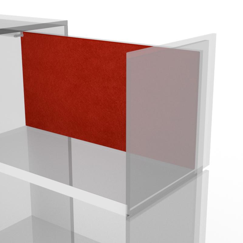 pedestal with internal pin board