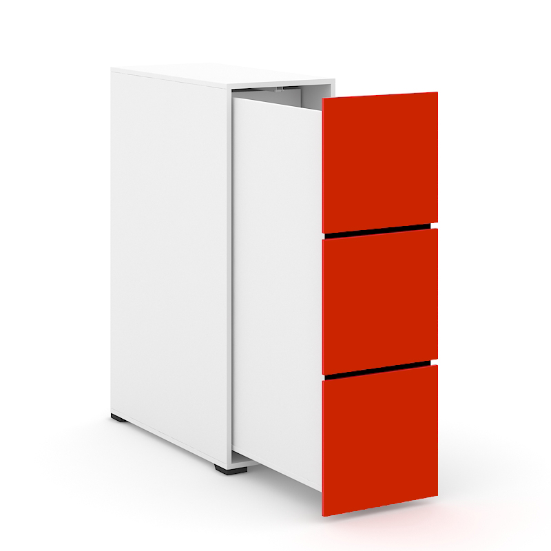 Tower Storage Red Front