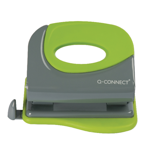 KF00996 Q-Connect Soft Grip Metal Hole Punch