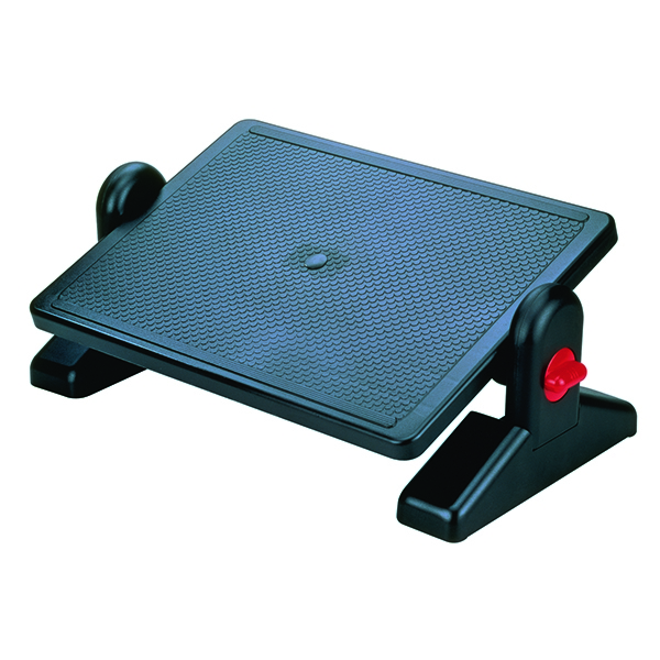 KF04525 Q-Connect Black Foot Rest