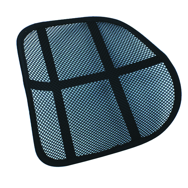 KF15413 Black Mesh Support for Office Chairs