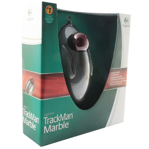 LC01010 Logitech Marble Trackball Optical Mouse