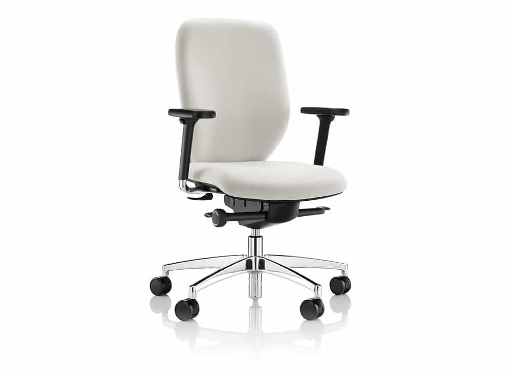 Lily-Modern-White-Office-Chair-Chrome-Base-Black-Arms