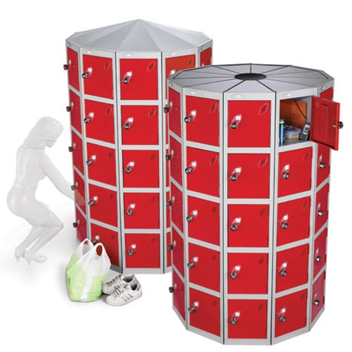 Lion-Steel-Locker-Pods-Red