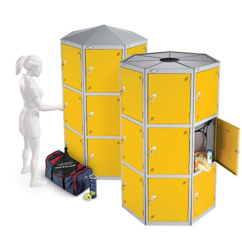 Lion-Steel-Large-Compartment-Lockers-Yellow
