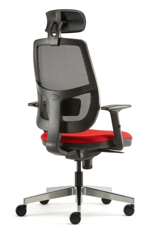 Lunar-Mesh-Back-Task-Chair-with-Headrest-Rear-View