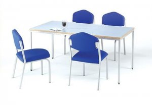Muti-Purpose-Grey-Rectangular-Top-Meeting-Table