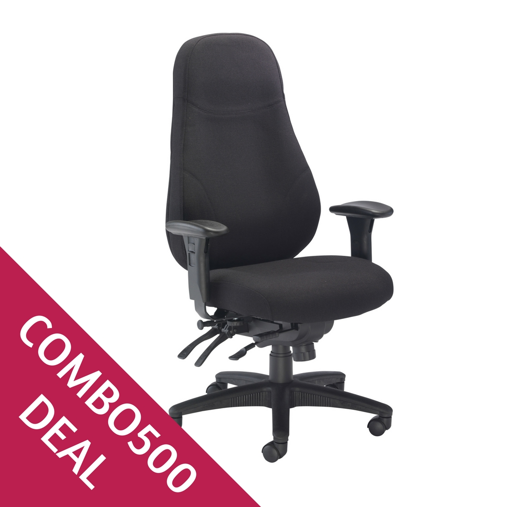 Managers Task Chair Combo 500 Icon