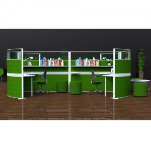 Marathon-Green-Freestanding-Office-Screens-Example-Set-Up