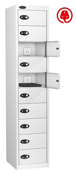 Media Storage Locker with Multiple Compartments