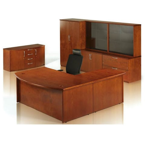 Minster-Veneer-Executive-Office-Desk-and-Matching-Furniture