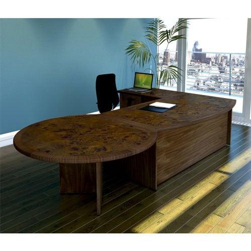 Minster-Veneer-Executive Desk-with-Meeting-End-Table