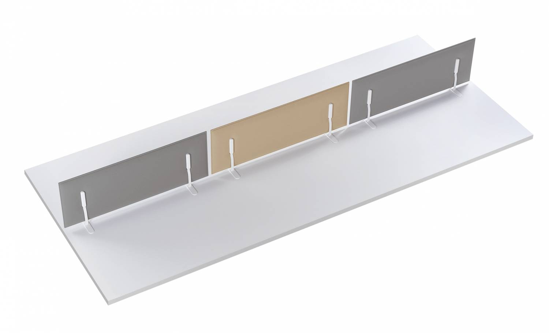 Mitesci-Worktop-Ocee-Sound-Absorbing-Desk-Dividers-Freestanding-Set-Up-Example