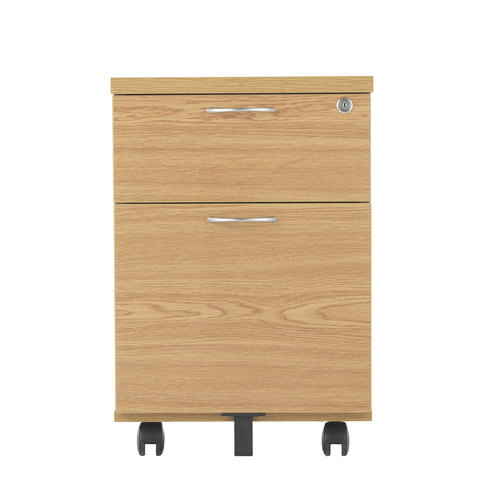 2 Drawer MFC Mobile Pedestal