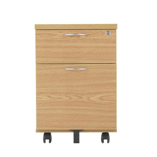 2 Drawer MFC Mobile Pedestal