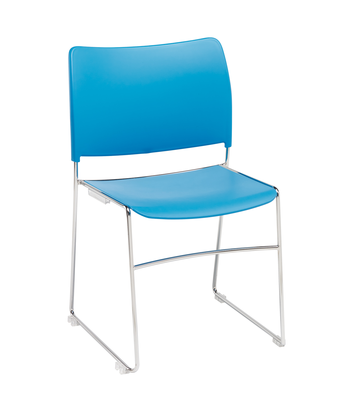 Modius-Blue-Plastic-Stackable-Meeting-Chair-with-Integral-Linking
