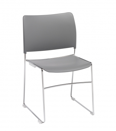 Modius-Grey-Plastic-Stacking-Meeting-Chair-with-Integral-Linking