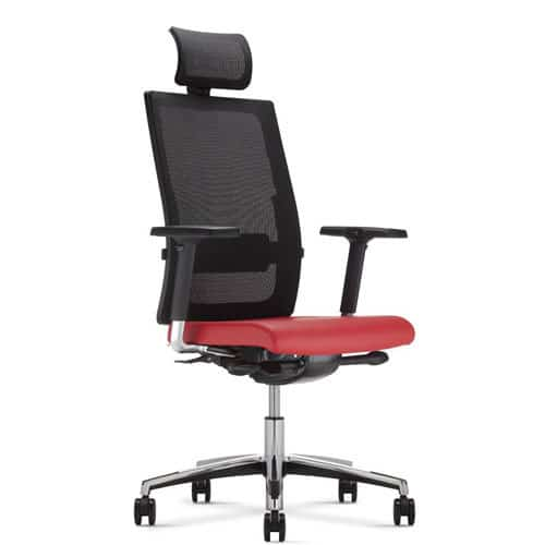 Mojito Modern Mesh Back Office Chair with Headrest