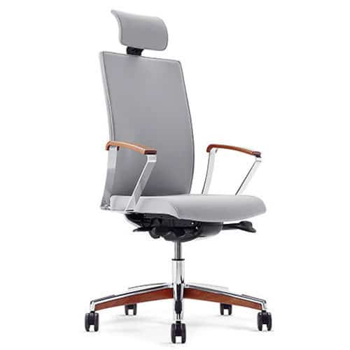 Mojito Premium Modern Leather Executive Chair with Fixed Arms