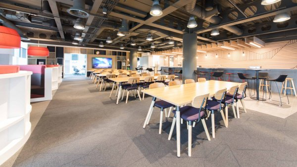 Upholstered-Chairs-In-Canteen