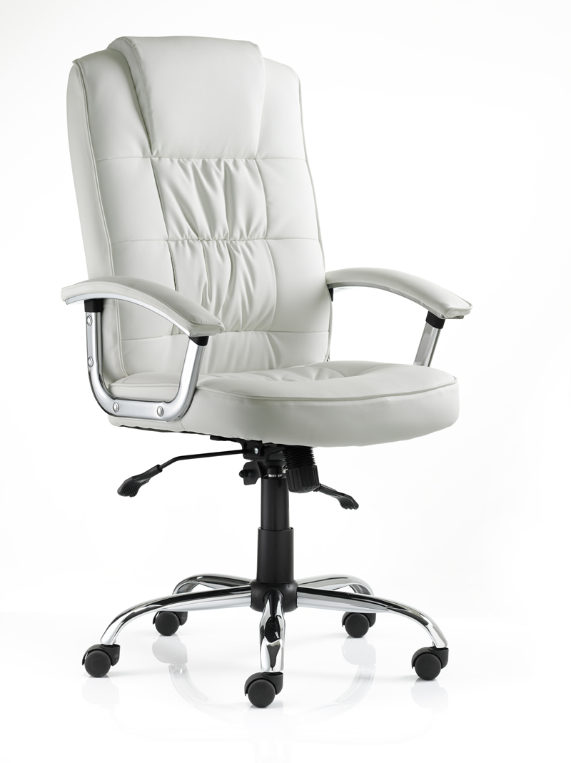 Moore-Deluxe-White-Leather-Executive-Chair-with-Padded-Arms
