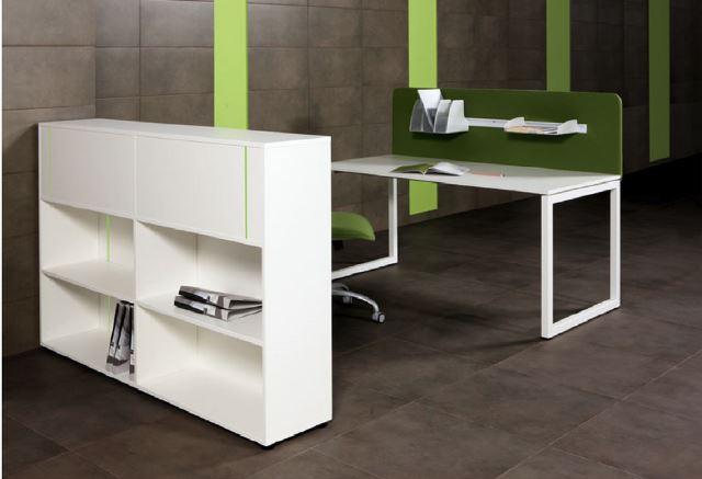 Steel Leg Bench Desk