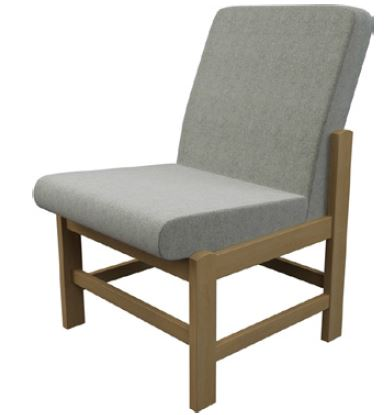 Newton-Medium-Back-Wooden-Frame-Reception-Chair