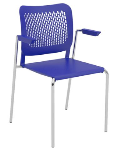 Oli-Plastic-Seat-and-Back-4-Leg-Stackable-with-Arms