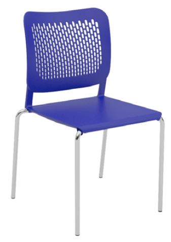 Oli-Plastic-Seat-and-Back-4-Leg-Stackable-Chair