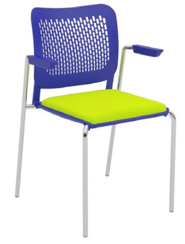 Oli-Upholstered-Seat-4-Leg-with-Arms-Stackable