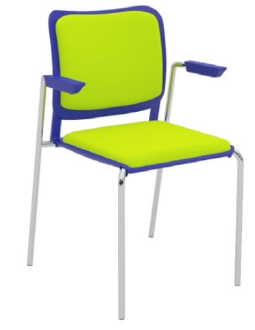 Oli-Upholstered-Seat-and-Back-4-Leg-with-Arms-Stackable