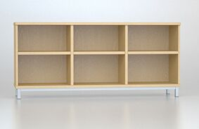 Open Fronted MFC Credenza Unit