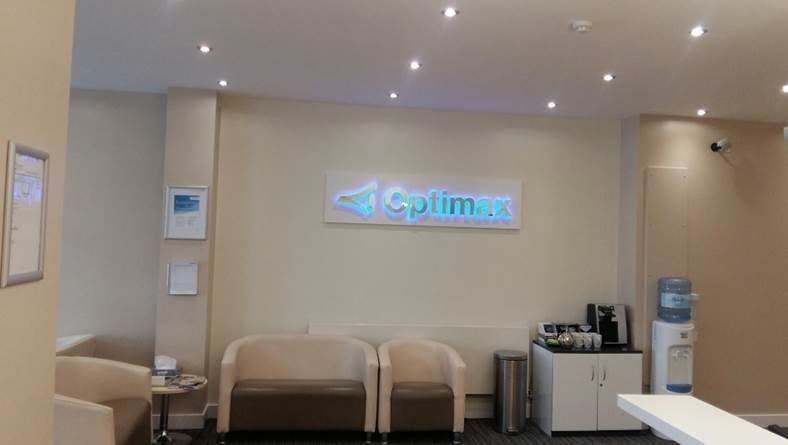 Refurbishment Of Optimax Leicester Clinic Wave Office Ltd