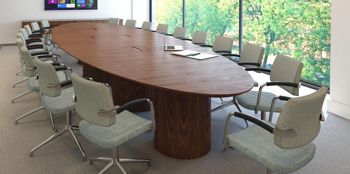 Oracle Veneer Boardroom Table