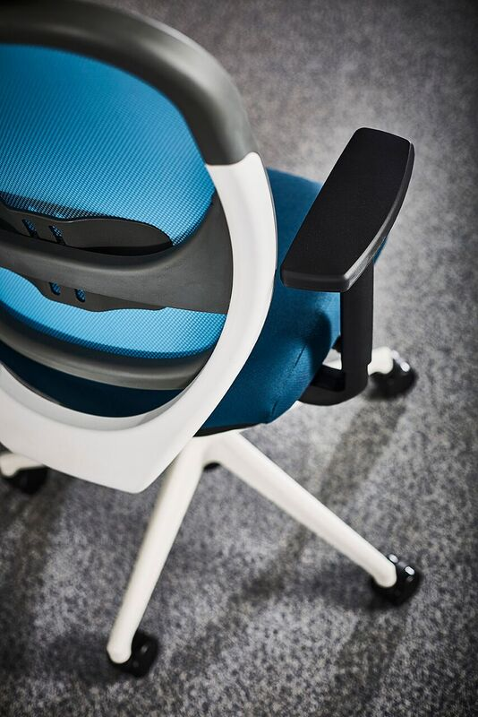 Oscar-Mesh-Back-Office-Chair-Birdseye-View