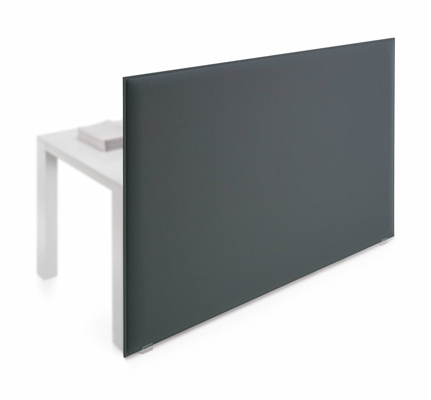 Oversize-Acoustic-Desk-Mounted Panels-Grey