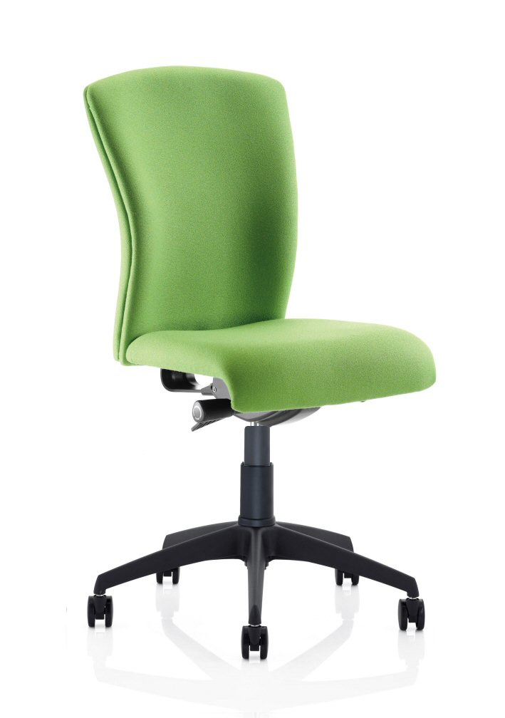 Poise Mid Back Chair with Black Base