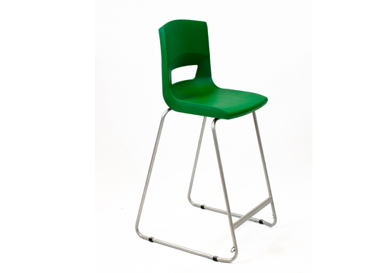 Postura Plus High Chair Forest Green