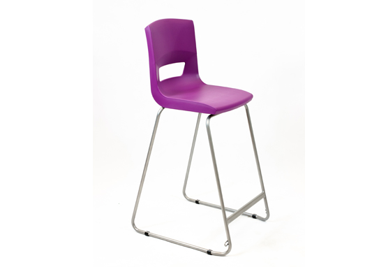 Postura Plus High Chair Grape Crush