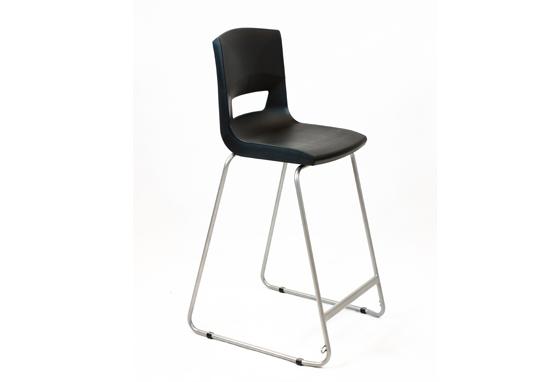 Postura Plus High Chair Jet Black
