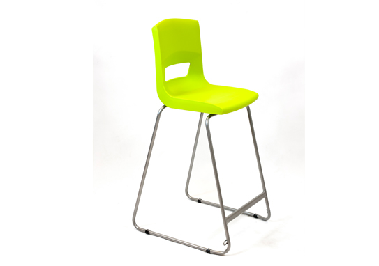 Postura Plus High Chair Lime Zest Green
