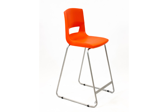 Postura Plus High Chair Poppy Red