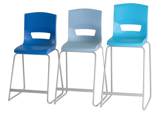 Postura Plus High Chair Stools Height Range