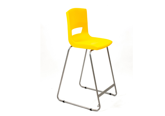 Postura Plus High Chair Sun Yellow