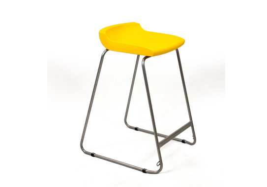 Postura Plus stool Sun Yellow